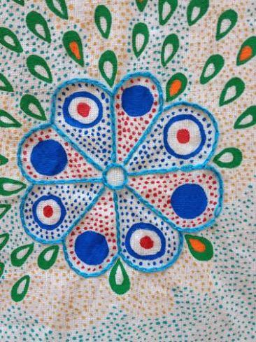 flores azul-rojo 6